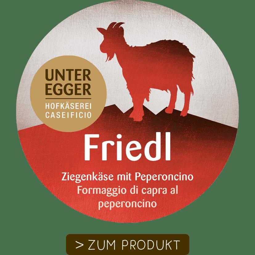 Hofkäserei Unteregger | Friedl Ziegenkäse mit Peperoncino