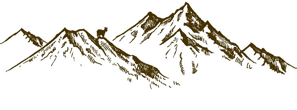 Hofkäserei Unteregger in Vals - Berge mit Ziege