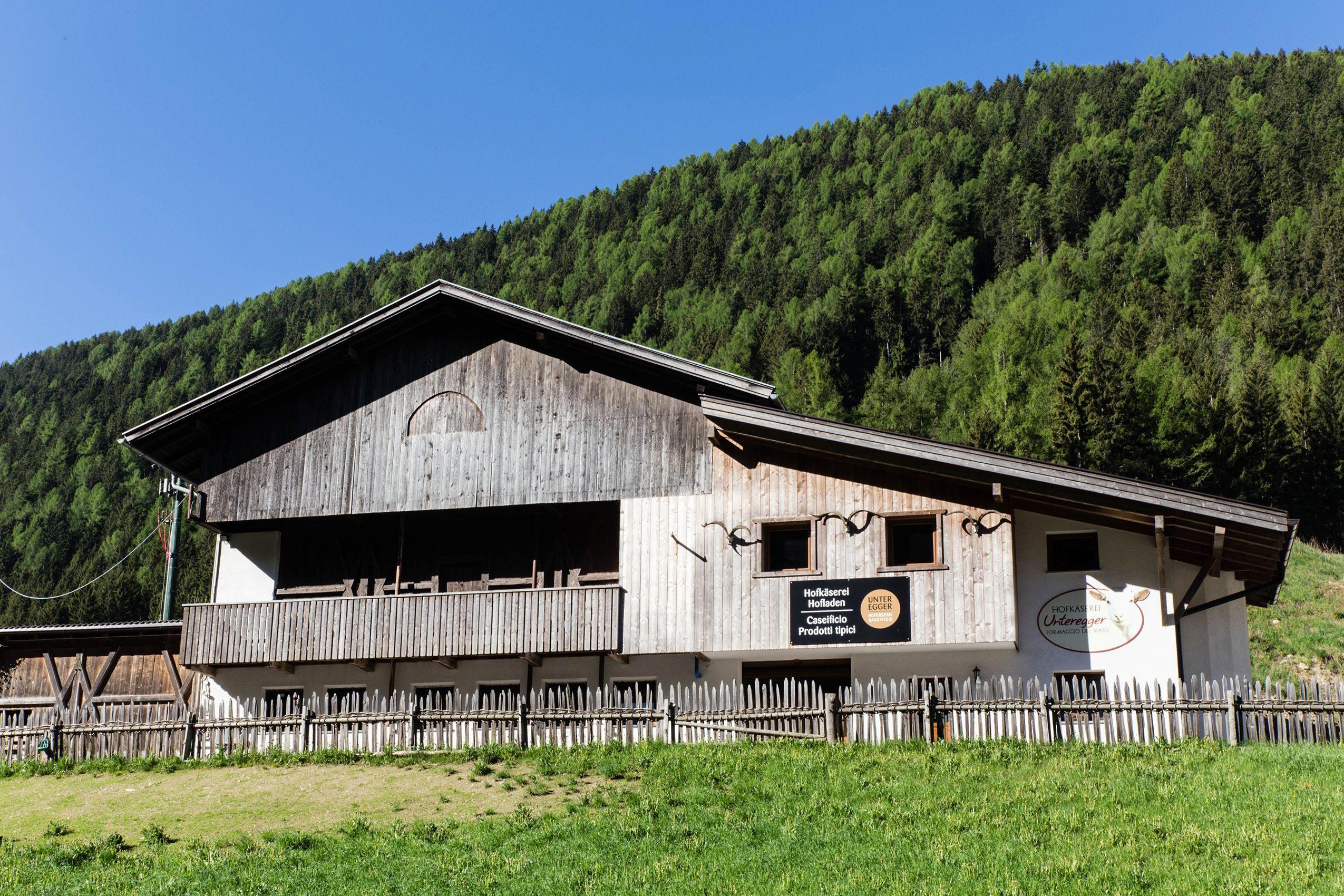 Hofkäserei Unteregger in Vals