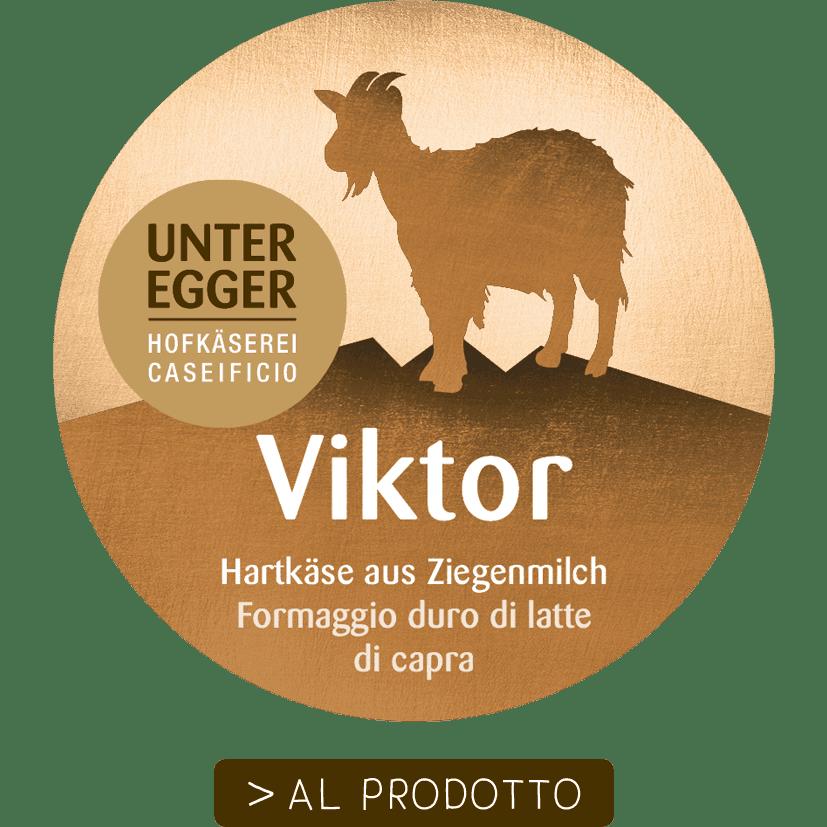 Hofkäserei Unteregger | Viktor Hartkäse aus Ziegenmilch